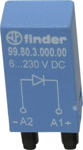Moduł-Finder-99.80.0.230.98 / 110…240V AC/DC ; LED+ warystor