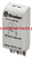 Moduł-Finder- 99.02.0.060.98 / 28…60V AC/DC ; LED+ warystor