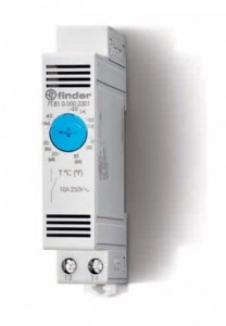 Termostat-Finder- 7T.81.0.000.2301 / NO; 10A; 250VAC; 7±4 K; IP20