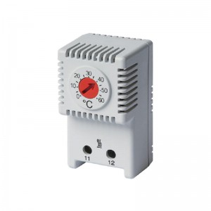 Termostat-Central- I-ALFATHR020 / pojedynczy do grzałki od 0°C do +60°C, 10 A 250 V AC, THR02